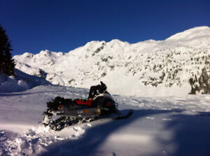 perfect mountain access sled