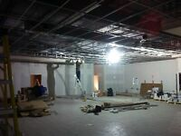 Dropped, suspended, float ceiling, installation and repair