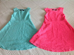 Two beautiful dresses worn once both for $10 size 6