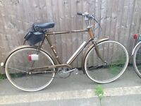 Raleigh esquire Gentlemens road bike serviced and ready to ride