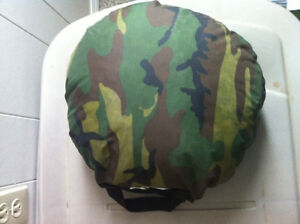 Camouflage Round Pail Pillow