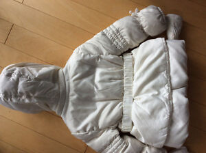 GEOX girls cream down filled jacked size 24 mths London Ontario image 2