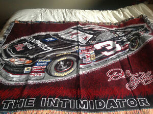 Dale Earnhardt throw