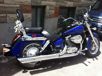 Honda Shadow Aero 750cc  -Négociable-