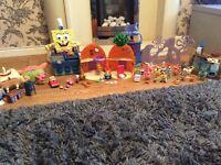 Job lot of sponge bob items