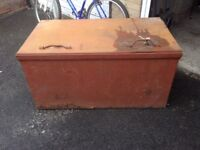 Very Heavy Large Metal Storage Container