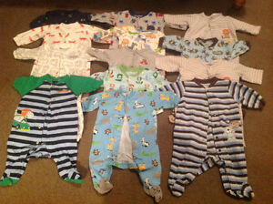 Size 3 months Sleepers for baby boy