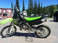 2007 KX 100 with Monster graphics