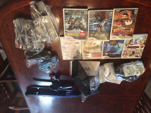 Black wii for sale with accessories