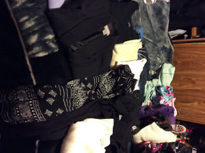 Variety of clothes (mom cleaned closet)