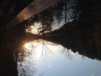 Chalet bord de l eau Saint-faustin