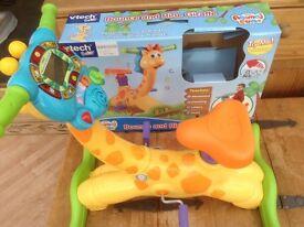 V Tech Bounce and Ride Giraffe