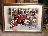 Alex Tanguay hand signed numbered print