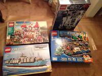 Brand New LEGO Ultimate Collector Series & Hard to find sets