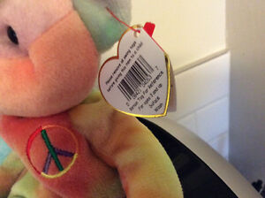 Rare Peace Beanie Baby with Tag Errors London Ontario image 3