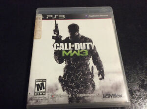 PS3 Call of duty: MW3 $5
