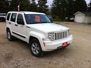 2009 JEEP LIBERTY SPORT 4x4 REDUCED $1000 OFF