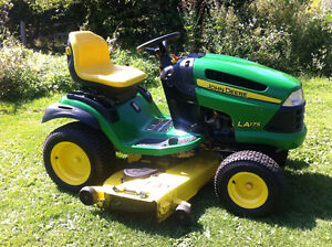 CASH PAID FOR YOUR UNWANTED JOHN DEERE LAWN TRACTOR