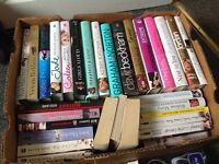 Box of books (30+)