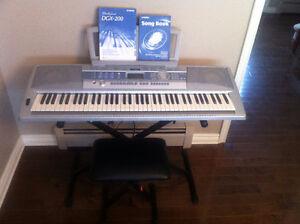 Yamaha keyboard (Portable Grand DGX-200)