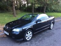 2004 Vauxhall Astra 2.2 Coupe Convertible-86,000-April 2017 mot-great example-fantastic value