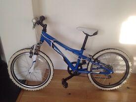 "Blue Dawes Redtail Kids Bike 20"" wheels"