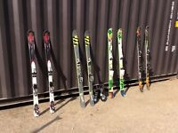 Assorted Twin tip/ Downhill skis- Purchase as bundle or separate