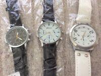 Brand new designer quartz watches