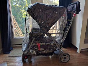 Joovy caboose ultralight with rain cover