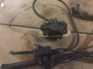 Systeme de brake a huile complet BRP Mach one 1996, $60 Master c