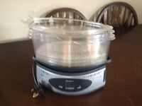 Breville Three Tier Electric Steamer - Barely Used- Great Condition!