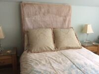 2 Large Bed Cushions by Dorma