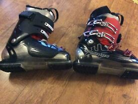 Size 8 ski boots salomon