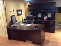 Executive Office Desk Suite