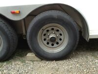 4-225/75/15 trailer tires and rims