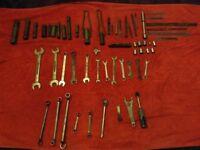 Mechanics tools job lot over 50 pieces