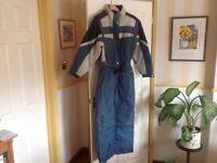 Men's retro ski suit.