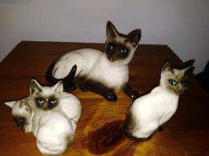 Royal Doulton Siamese cats