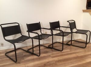 Mart Stam Style Vintage Chairs - Chaises Style Mart Stam Retro