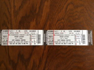 2-5th ROW CENTER VIP FLOOR Tickets to Roger Waters @ ACC Oct.3!!