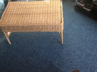 New Java wicker coffee table