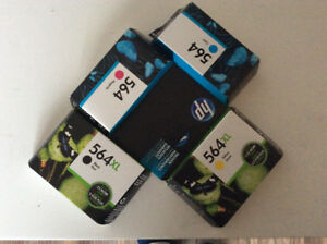 New HP564 ink cartridges for sale