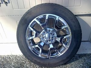 Set of 4 GMC Sierra Factory 20 inch Tires and Rims