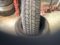 Super deal on a set of 235-65-17 snow tires.