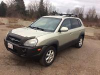 2005 Hyundai Tucson Gl 2.7 , v6 , auto , warranty CLEAN!! $3500.
