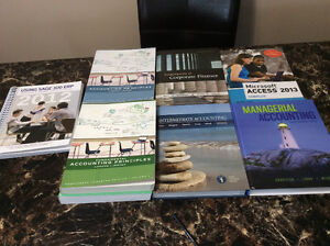 Business & accounting books for sale