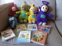 Original Teletubbie toy/DVD bundle -£50
