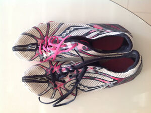 Track shoes, size 8