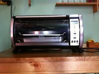 Used Rival Digital 6-Slice Countertop Oven with Convection