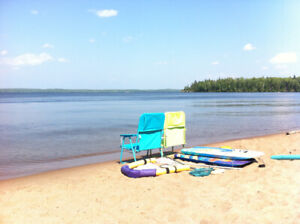 Two lakefront cabins side by side July 28-Aug 4!!